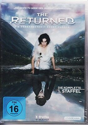 The Returned - Die komplette 1. Staffel [3 DVDs] DVD NEU