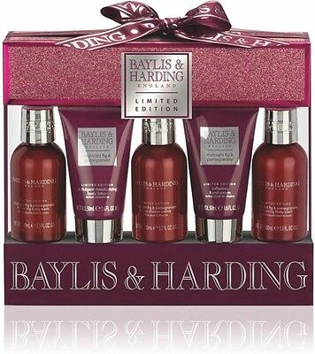 Baylis & Harding  Midnight Fig & Pomegranate Luxury Gift Set Xmas Gift  BNIB