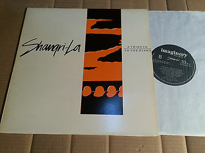 V/A - SHANGRI-LA - A TRIBUTE TO THE KINKS - FLESHTONES / WOLFHOUNDS u.a.  - LP