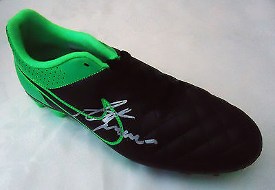 Nike Football Boot  Signed By Alan  Shearer