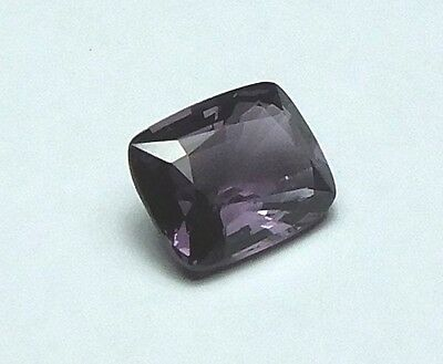 Feinster Natürlicher Purpur Spinell Cushion Cut 1,42 Ct