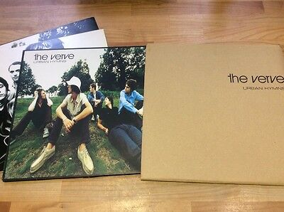 The Verve - Urban Hymns Double Lp With Rare Cardboard Outer Sleeve