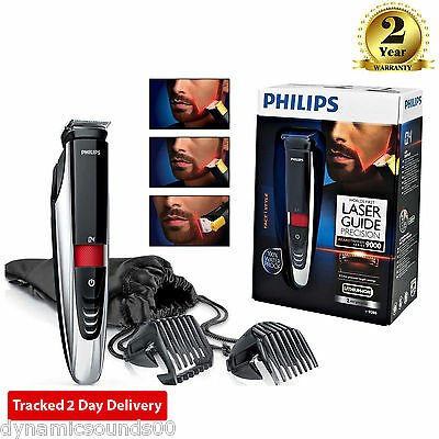 Philips Series 9000 Laser Guided Waterproof Dual-Sided Beard Trimmer BT9280/33