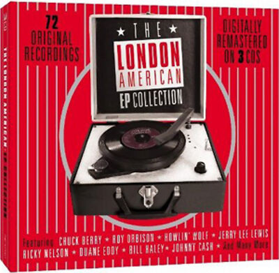 Various Artists The London American EP Collection CD NEW