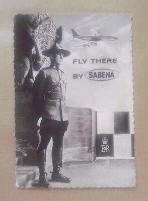 Airline-Issued Postcard / Sabena / Fly There By Sabena / Canada / Royal...