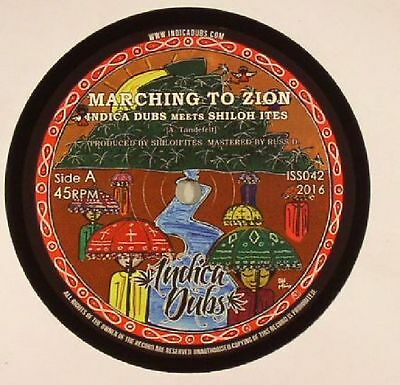 """INDICA DUBS meets SHILOH ITES - Marching To Zion - Vinyl (7"""")"""