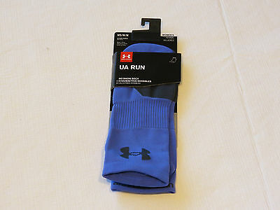 Under Armour UA Run No Show Socks 1 pair M MD 7-10.5 running womens purple NWT*^