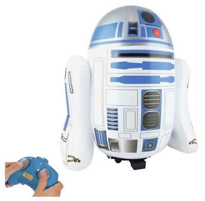 New Star Wars Inflatable R2-D2 RC Remote Controlled Radio Control Droid Robot