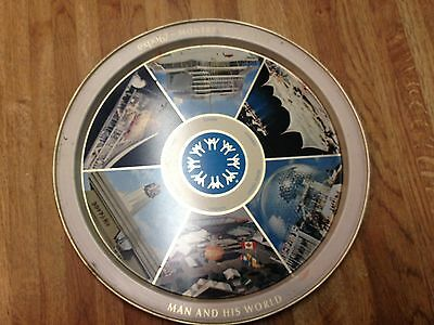 COLLECTIBLE TRAY Montreal Expo76 Antique/Vintage