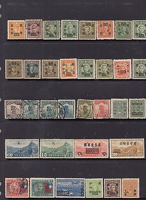 CHINA Stamp Collection Nice Lot MH,MNG,Fine Used(b) 3 scans