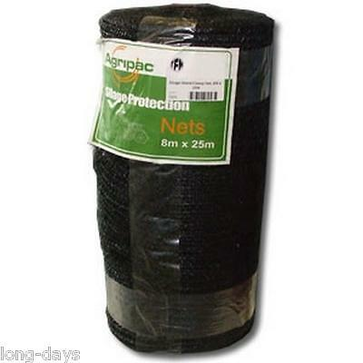 SILAGE NET 8M X 25M STACK SILAGE CLAMP BALE NET Chicken pen cover Fruit Bird Flu