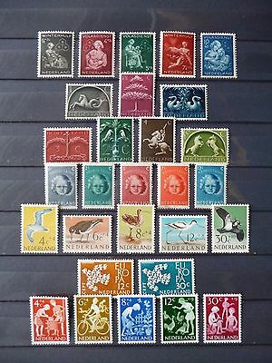 NETHERLANDS :- Collection of 14 Mint sets : 1944 - 1970.