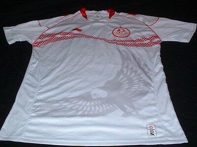 Tunisia North Africa African Tunisienne Soccer Football Large Mans Jersey