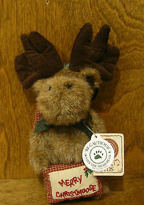 """Boyds Ornaments #562429 M.C. Twinklemoose, 5"""" NEW/Tag From Retail Store, Moose"""