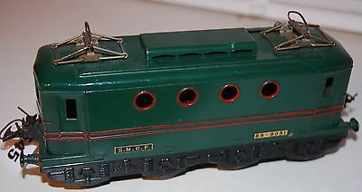 Hornby Series O Gauge Electric Bo-Bo French Loco In Green Livery