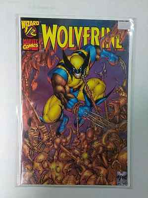 Wolverine 1/2 Wizard-With Certificate Of Authenticity-Marvel Comics