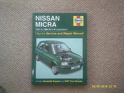 Haynes Nissan Micra Manual