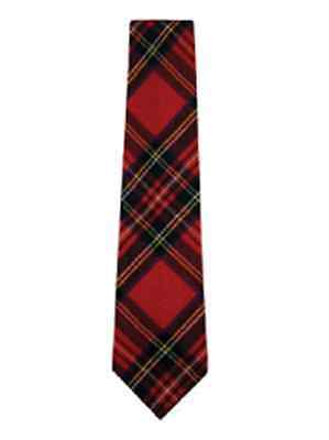 Royal Stewart Tartan Tie 100% Pure Wool 4 Dressed Shirt Kilt Sporrans On Sale