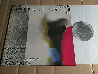V/A - MUSIQUE ACTION INTERNATIONALE 85 - HANS REICHEL / KEITH TIPPETT u.a. - LP