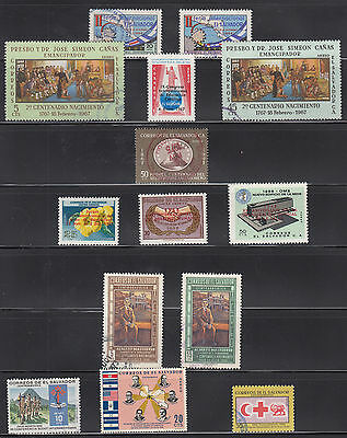 El Salvador 1966-1969 Mint and used air collection