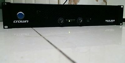 Crown XLS202 300W+300W Rack Mountable Power Amplifier Stage studio amp USED RARE