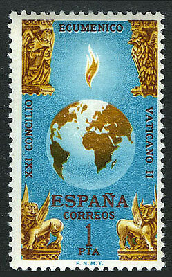 Spain 1333, MNH. Globe and Four Beasts of Apocalypse, 1965