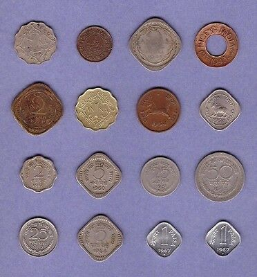 "India - (1910-1967) - Coin Collection ""MEGA"" Lot #B - World/Foreign/Asia"