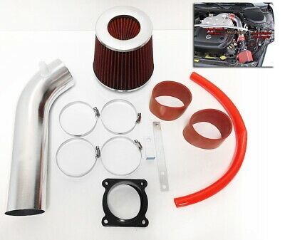 RED For 2003 2004 2005 2006 Infiniti FX35 3.5L V6 Air Intake System Kit + Filter