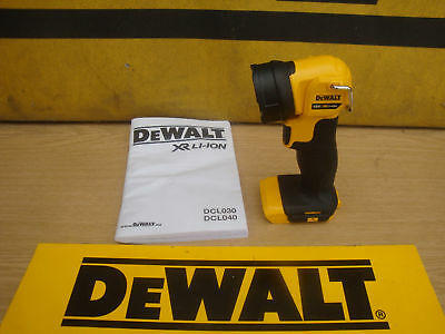 Brand New Dewalt Dcl040 Xr 18V 18Volt Led Swivel Worklight Torch