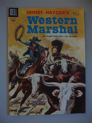 Four Color #640 G/VG Western Marshal