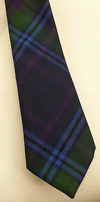 Spirit Of Scotland Tartan Tie 100% Wool 4 DRESSED SHIRT KILT SPORRANS NOW