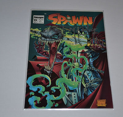 TODD McFARLANE  Signed SPAWN #15  Autograph