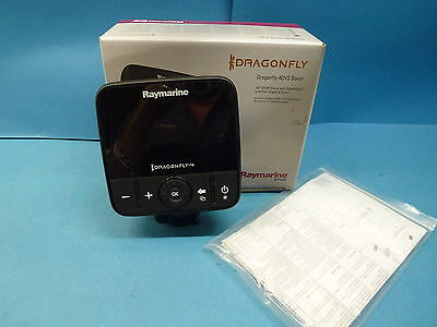 Raymarine 4.3'' Dragonfly 4 DVS Dual Channel CHIRP Sonar with DownVision