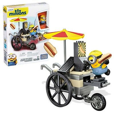 I Simply Despicable Me 2 - Minions Mega Blocks Construction Set Flying Hot Dogs