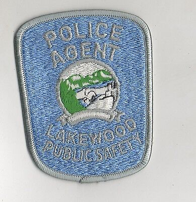 Lakewood Colorado Police Agent Patch