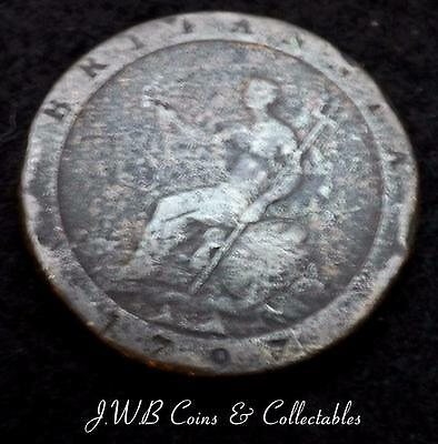 1797 George III Cartwheel 1d One Penny Coin
