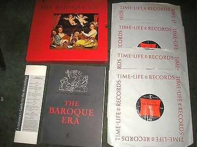 The Story Of Great Music The Baroque Era 4Lp Box Set+Book & Notes Near Mint