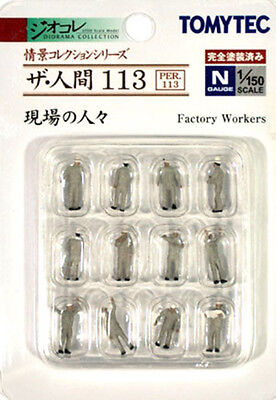 TOMIX N Scale 1/150 TOMYTEC The Human Collection 113 : Factory Workers