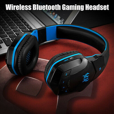KOTION Wireless Bluetooth V4.1 Stereo Gaming Headphone Headset With Mic for PC