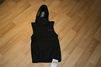 ONEILL Thermo Thermal Vest with Neoprene Hood Oneill Wetsuit Rash Vests Medium M