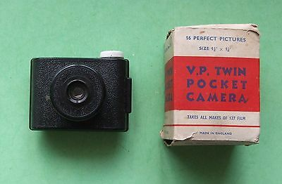 V.P.TWIN POCKET CAMERA - 127 film -  1938- Boxed