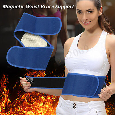Magnetic Heat Waist Belt Brace Self-heat Pad For Lower Back Pain Relief Support