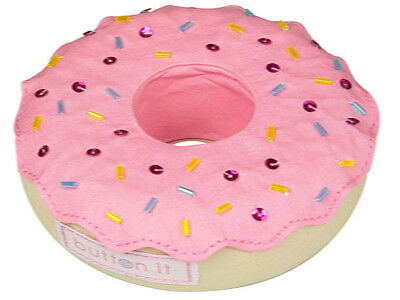 NEW | Button It 82209 | Cute As A Button Doughnut Pin Cushion | 11 x 11 x 4cm
