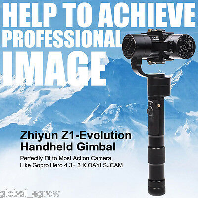 Zhiyun Z1-Evolution 3-Axis Handheld Stabilizer Brushless Action Cameras Gimbal