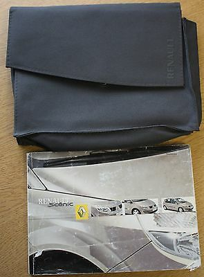 Renault Scenic Ii Owners Manual Handbook Wallet 2003-2006 Pack 10139