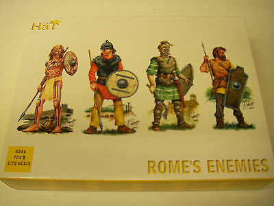 HaT 8266 - Rome's Enemies             1:72 Plastic Figures Model Kit-Wargaming
