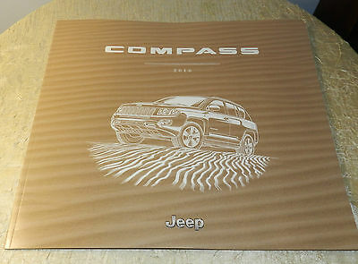 2016 Jeep Compass  Authentic All Models  Booklet Brochure Showroom