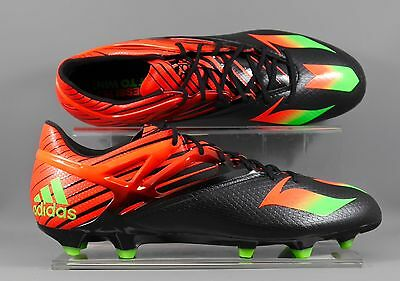 Adidas (AF4654) Messi 15.1 FG/AG adults football boots - Black/Red