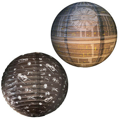 star wars spherical paper druide r2d2 bb8 lampenschirm disney 30cm lampe leuchte eur 8 99. Black Bedroom Furniture Sets. Home Design Ideas