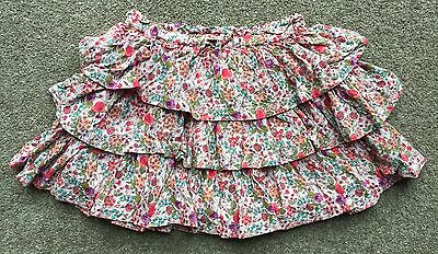 Next Floral Ra-Ra Skirt Size 7 Years